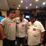 "Hal,Colt Ford and Ice Road Trucker ""Porckchop"""